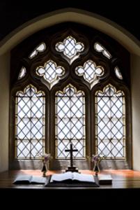 church window altar