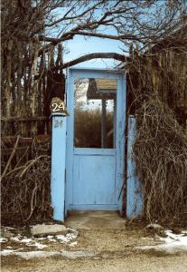 Turquoise Door, by Val Isenhower